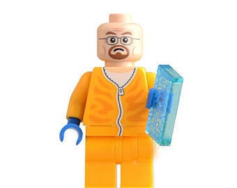 Breaking bad Lego: Walter White Cooking