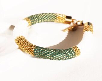 Bracelet summer emerald