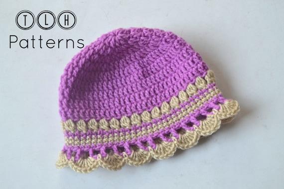 Crochet Baby Girl Hat Pattern Baby Hat Pattern Baby Girl