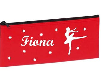 Red dancer personalized with name package