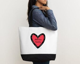 TOTE BAG: It takes a BIG Heart