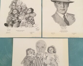 Raggedy Ann Festival Signed prints