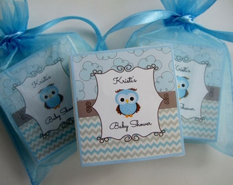 Baby Shower Favors, Baby Owl, Soap Favors, set of 10