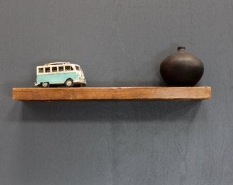 Reclaimed Timber Beam Floating Shelf