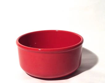 Vintage 1980s Waechtersbach Germany 9 inch Red Pasta Serving Bowl/Classic/Made in Spain