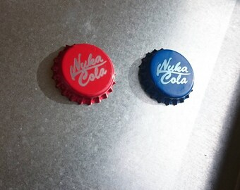 55 Nuka Cola / Quantum Caps - Replacement for Board Game - High Quality