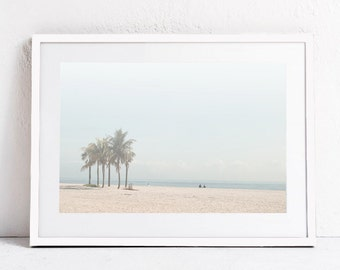 Beach PRINTABLE Art, Beach Print Coastal Print Landscape Photo Print-Coastal Decor Beach Wall Art DIGITAL DOWNLOAD Coastal Art Palm Tree Art