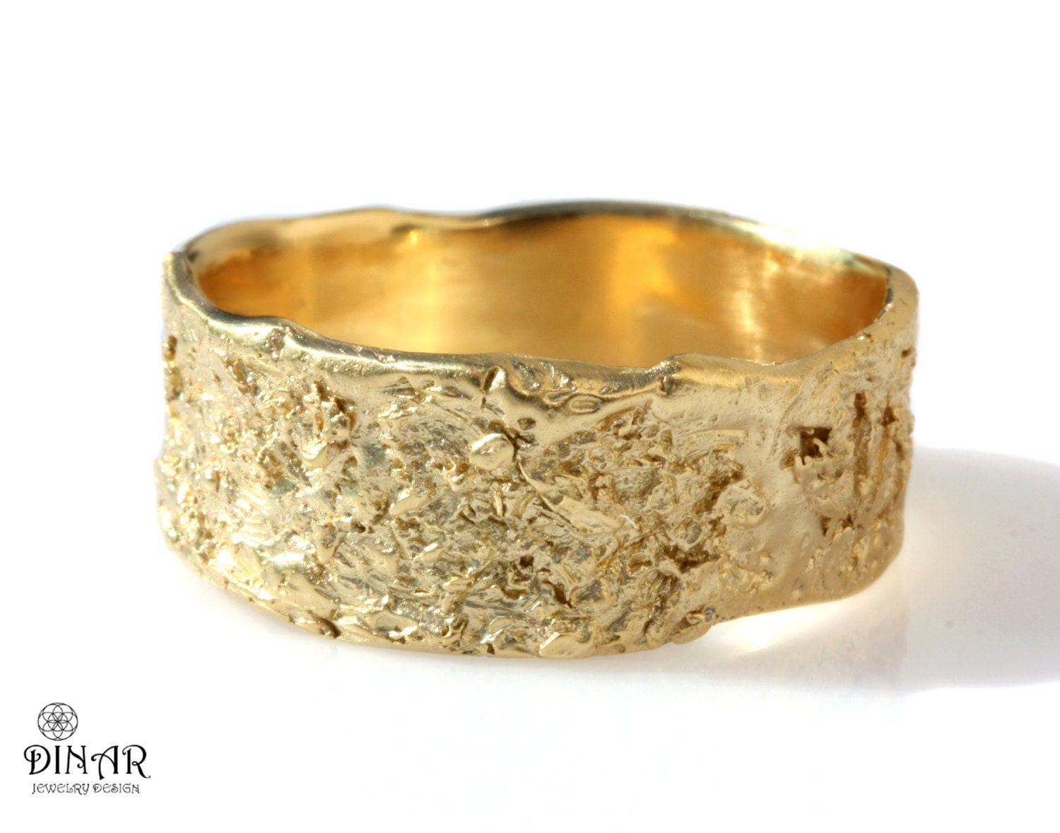 products bands wedding by ring treasure textured pretty unusual liquid white jewellery solid gold matching wild wide handmade