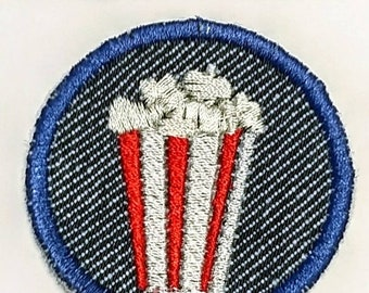 Popcorn en fer sur Patch/Merit Badge