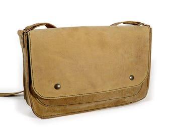 Leather men satchel bag