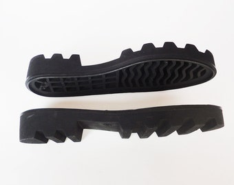 Rubber soles for shoes BLACK Outsole felted boots Sole winter boots Rubber soles felted shoes Outsole for leather shoes Sole for felt boots