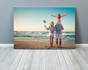 Custom Metal Print, Direct-To-Surface Metal Print, Create Your Own, Your Photo, Satin Finish