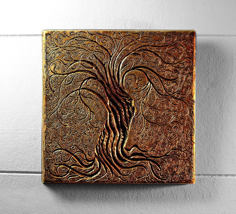 Wall Art Sculpture Tree Of Life Wall Art Sculpture Rustic Gift Bronze Tree