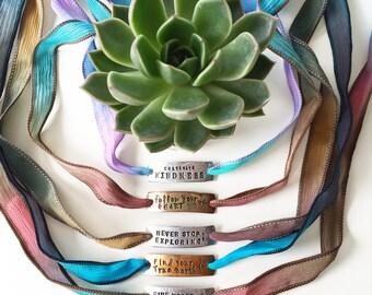 Design Your Own Wrap Bracelet - Custom Jewelry, Personalized Jewelry, Personalized Bracelet, Custom Bracelet