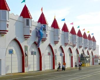 Wonderland Boardwalk Art, Amusement Park Art, Shore Art, Beach Photography, Ocean City Wall Decor, Boardwalk Photography, OCNJ Art Print