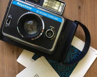 Keystone Polaroid Camera