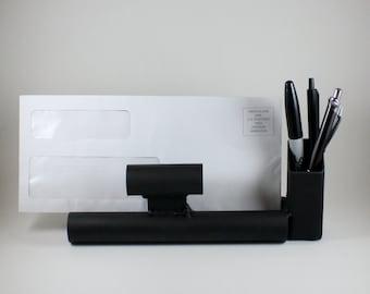 Industrial Pen Holder / Mail Holder / Office Desk Organizer