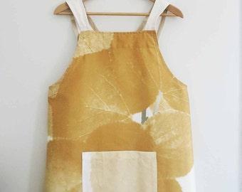 Japanese apron Marimekko fabric cross back aprons