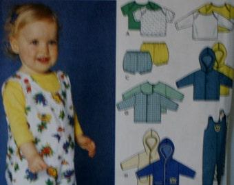 Simplicity 9275 Babies Layette Sewing Pattern New\Uncut Size XXS-L