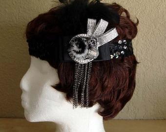 Flapper Style Headpiece.