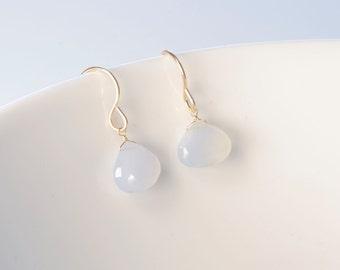 Dangle earrings, gold dangle earrings, gold drop earrings, gold filled earrings