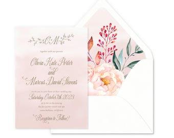 Enchanted Drift Wedding Invitations