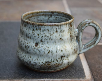 Ceramic Mug, Pottery Mug, Handmade Ceramic Mug, Coffee Mug, Ceramic Coffee Cup, 9 oz