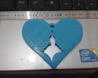 Heart Pendant | Pendant | Love Pendant | Heart Shaped Pendant | Plastic heart | Heart | Heart Jewelry | Couple Pendant | Heart for Girl