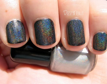 Starshine Holographic Top Coat Holo Custom Indie Nail Lacquer Starlight Polish