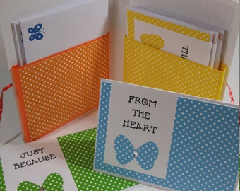 Polka Dot Card Set