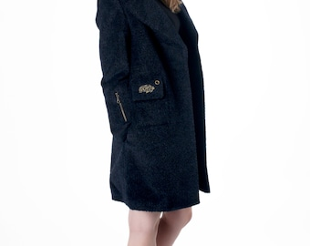 Luxury Suri Alpaca Coat