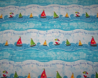 Row C Collection - Sailboat Stripe