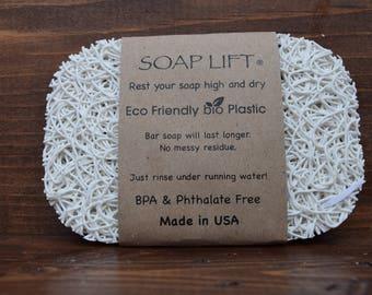 White Soap Lift Soap Saver