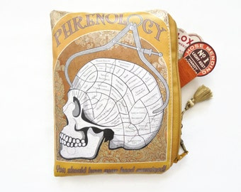 Vintage wallets for women,Girlfriend gifts, Waterproof Phrenology Storage Wallet