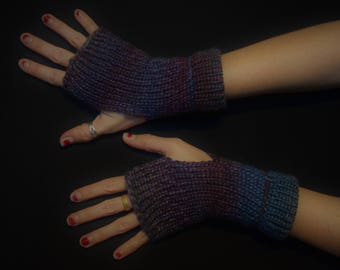 Midnight Sky Arm Shyne - Fingerless Arm Warmers - Fingerless Gloves