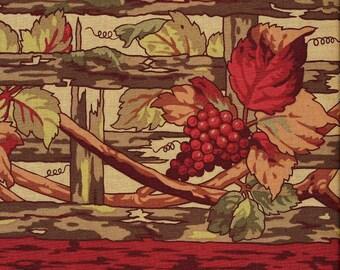Celebration Grape Arbor - RJR - Destash Sale - 1 yard - Last Available