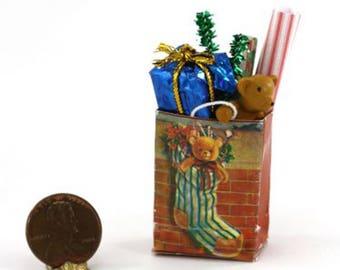 Artisan Christmas Shopping Bag Filled to the Brim!!!