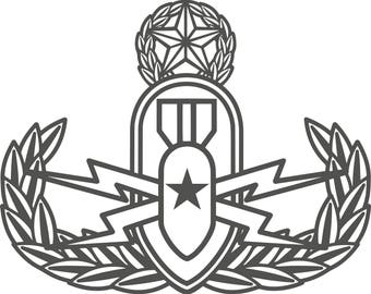 EOD Badge (Basic, Senior, Master)