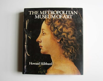 Metropolitan Museum Of Art  by Howard Hibbard - Hardcover –1980 - coffee table book - vintage book - home decor