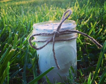 A Meadow Yonder: Lavender & Chamomile 8 oz Natural Soy Wax Candle
