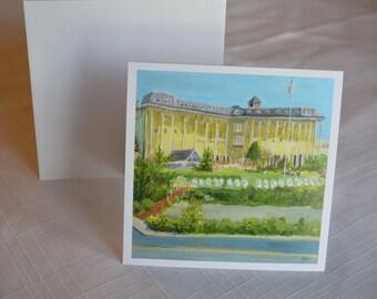 Congress Hall  Cape May, N.J.  card  4 x 4