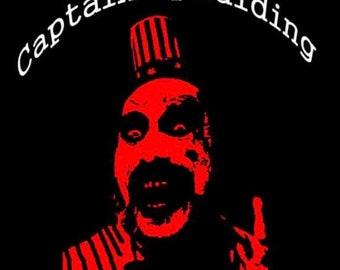 Captain Spaulding black t-shirt/ DEVILS REJECTS/ rob zombie