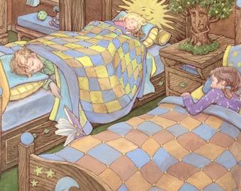 Sweet Dreams 8.x11 Signed Print
