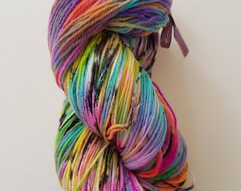 MARIE. the brush-dyed wool skein