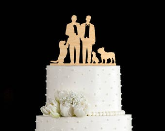 Gay wedding cake toppers dog,mr and mr gay cake topper dog,gay wedding toppers dog,mr and mr cake topper dog,mr and mr cake dog,5982017