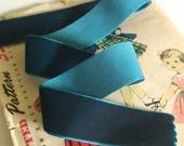 Dark Teal Blue Velvet Rib...