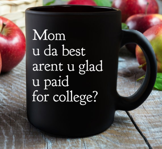 Mother's Day mug coffee or tea cup  mom u da best funny Gift Idea