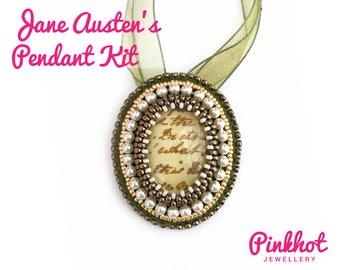 Jane Austen's Pendant Kit