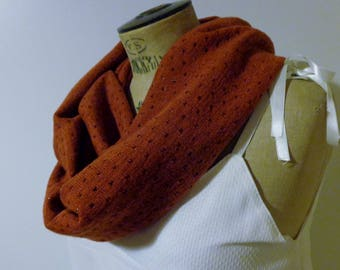 snood, cowl, Red