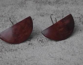 madrona Burl earrings